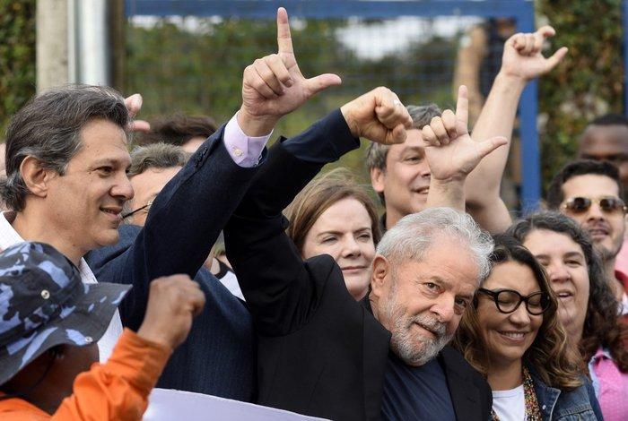 Lula foi solto em novembro de 2019 após 580 dias na cadeia