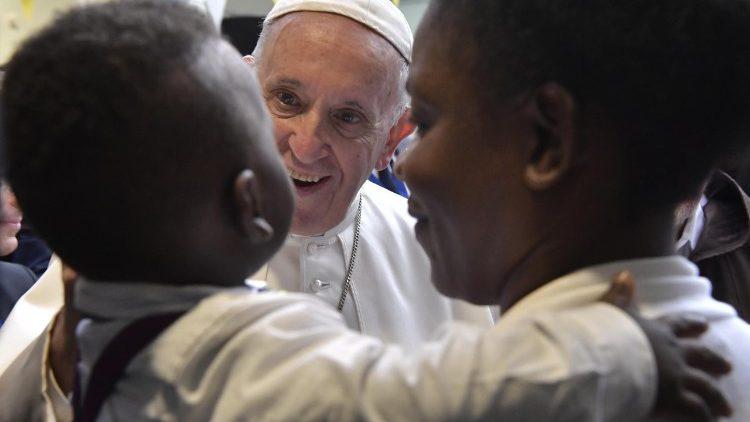 Papa Francisco no 24º Encontro Mundial das Famílias, em Dublin