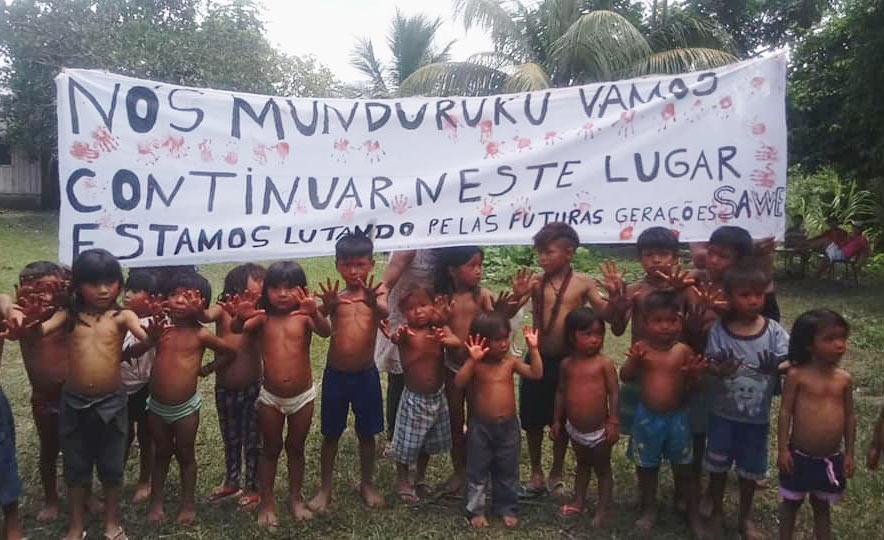 Região invadida da Bacia do Rio Cururu é considerada essencial para a sobrevivência dos munduruku