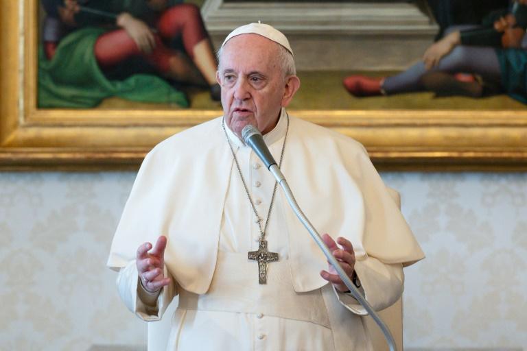 O papa Francisco em foto de 24 de março de 2021