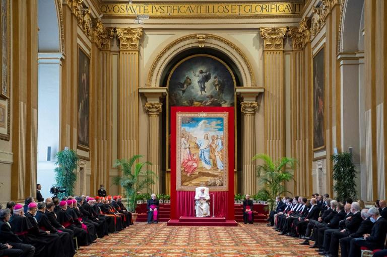 O papa Francisco presidiu a cerimônia de abertura do 92º ano judicial do Tribunal do Estado da Cidade do Vaticano