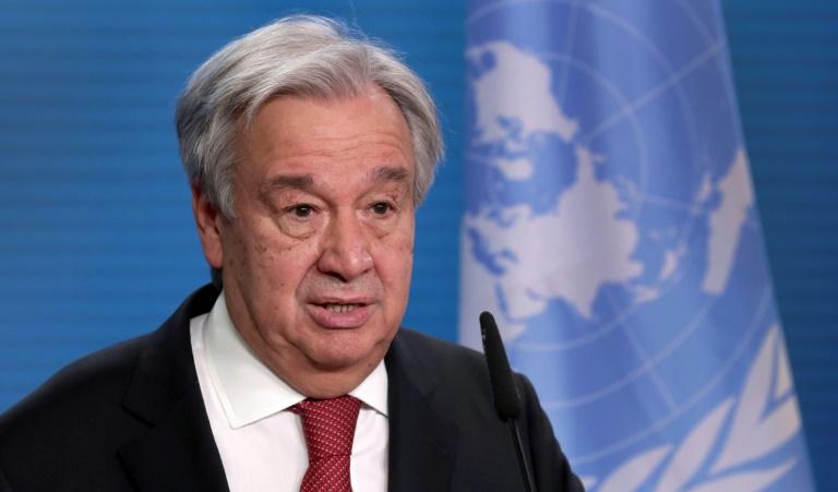 (Arquivo) O secretário-geral da ONU, Antonio Guterres