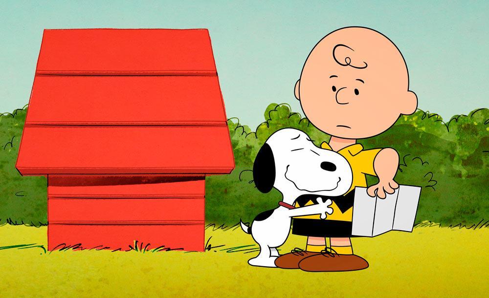 'The Snoopy show traz os personagens criados por Charles M. Schultz