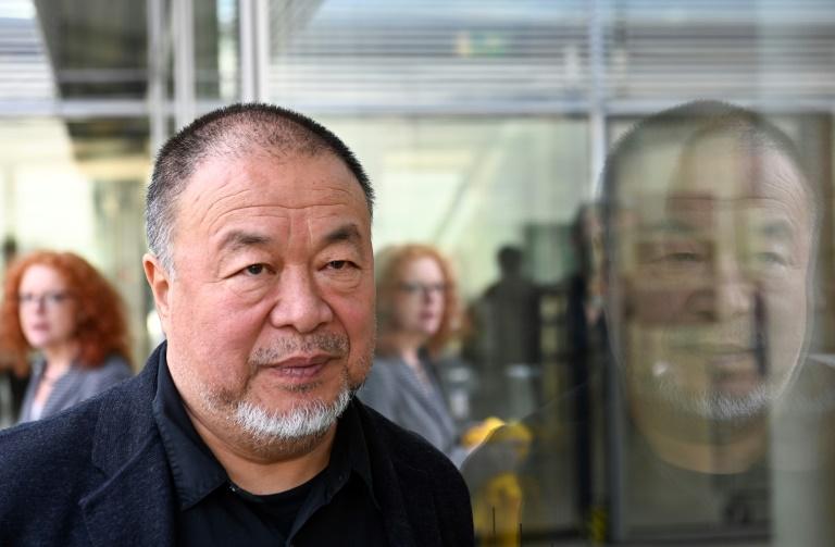 Ai Weiwei em Berlim em 29 de setembro de 2020