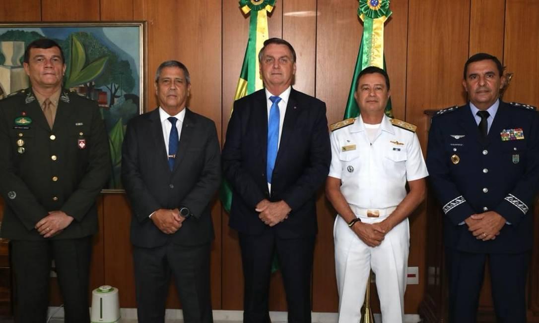 Novo comando das Forças Armadas foi anunciado nesta quarta-feira