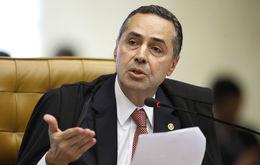 Barroso ainda criticou a herança autoritária da LSN (Carlos Moura/SCO/STF)