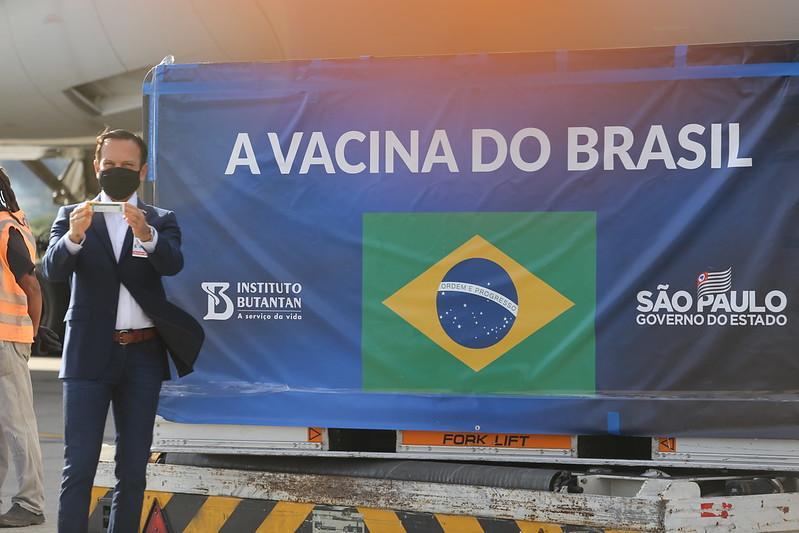 Doria é responsável  pela vacina no Coronavac no Brasil