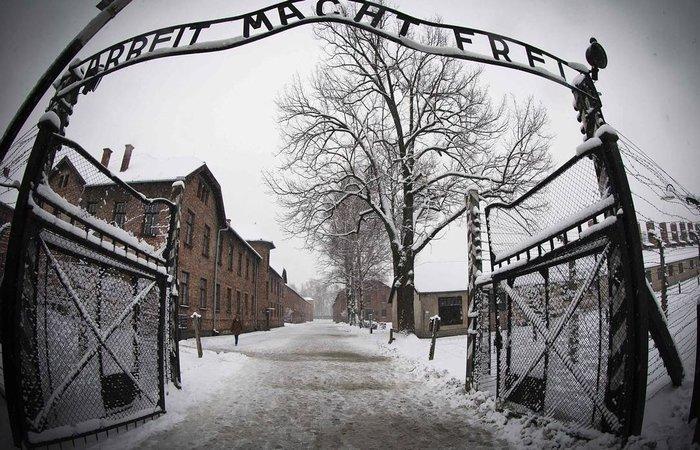 Auschwitz, no sul da Polônia, foi o maior complexo de campos de concentração durante o regime nazista