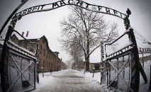 Auschwitz, no sul da Polônia, foi o maior complexo de campos de concentração durante o regime nazista (AFP)