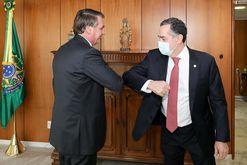 Cima ficou tenso após decisão do ministro Luís Roberto Barroso (Marcos Corrêa/PR)