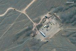 Vista aérea do complexo nuclear de Natanz, no centro do Irã, em 28 de janeiro de 2020 (afp)