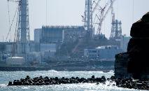 Cerca de 1,25 milhão de toneladas de água foi acumulada no local da usina nuclear (Kazuhiro Nogi/AFP)