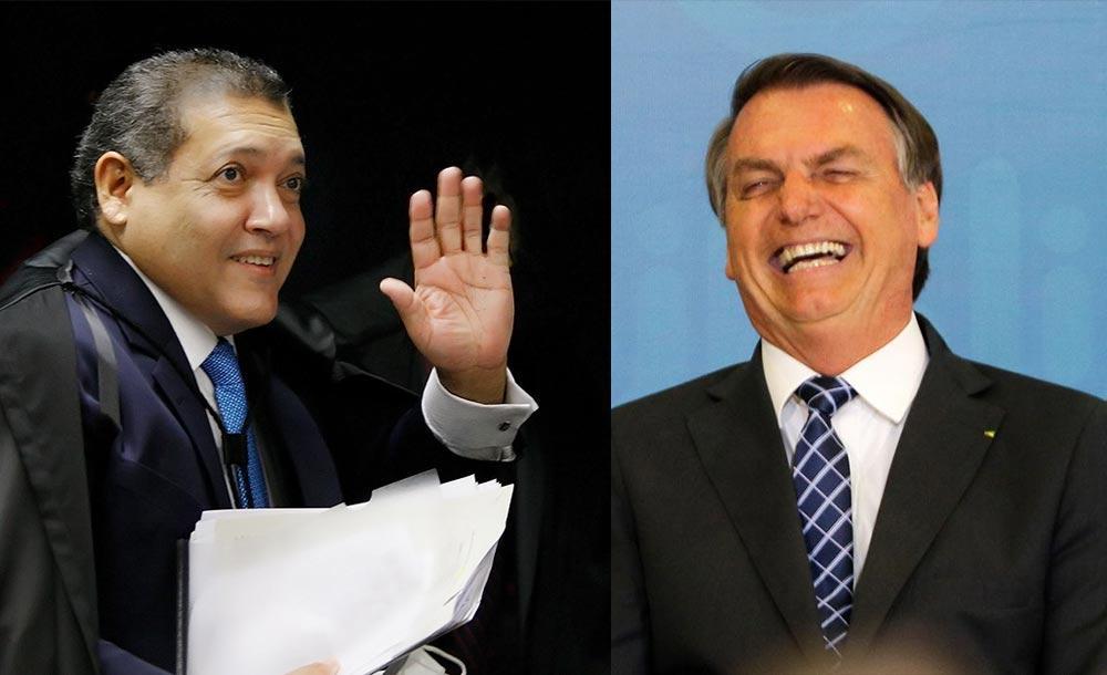 Nunes Marques foi o primeiro magistrado indicado pelo presidente para ocupar uma cadeira no STF.