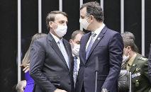 Presidente Bolsonaro não conseguiu impedir abertura da CPI da Covid (Pedro França/Agência Senado)