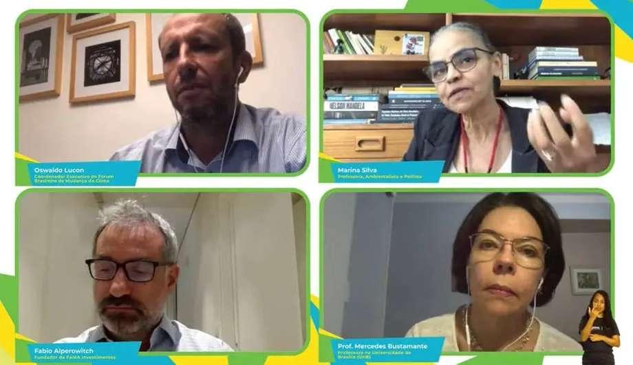 Participantes do Brazil Conference discutiram propostas durante painel 'Brasil: Metas Climáticas'