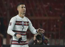 A seleção de Portugal, do atacante Cristiano Ronaldo, é a atural campeã da Eurocopa (pedja milosavljevic/AFP)