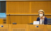 Presidente da Comissão Europeia Ursula Von Der Leyen (Francisco Seco / POOL / AFP)