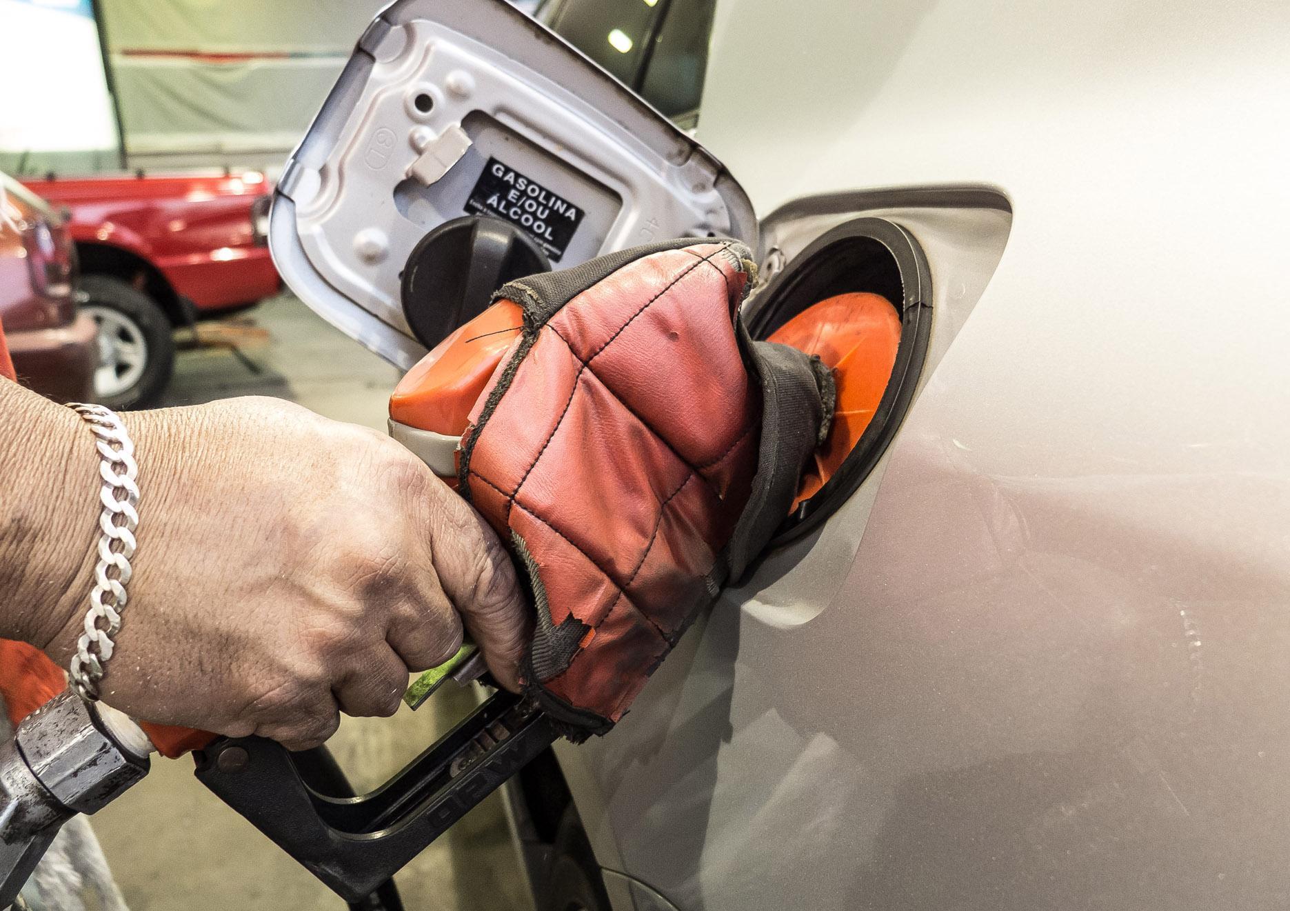 Preço da gasolina disparou neste ano, com reajustes seguidos