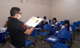 Foram acompanhadas 554 escolas da rede estadual paulista (ABr)