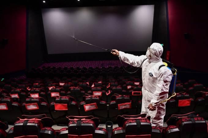 Salas de cinemas deverão seguir protocolos rígidos