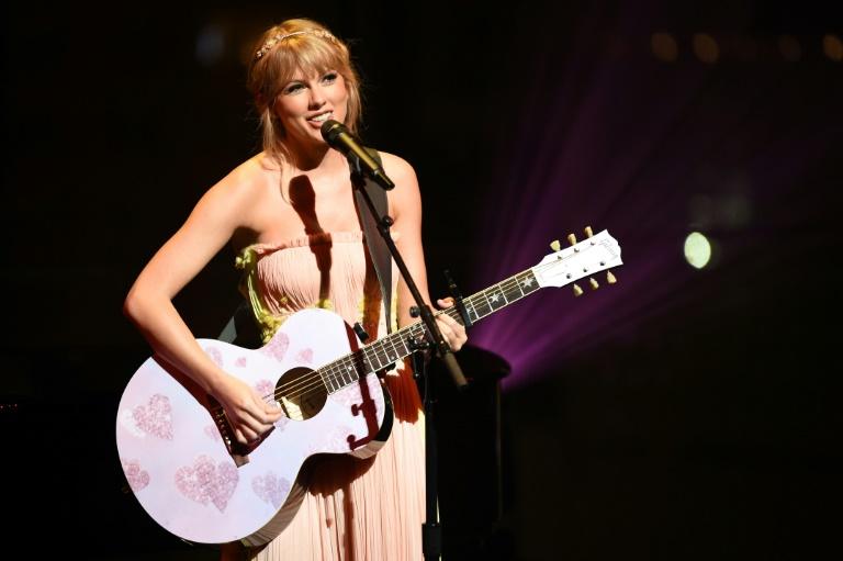 Taylor Swift no Lincoln Center de Nova York, em 23 de abril de 2019