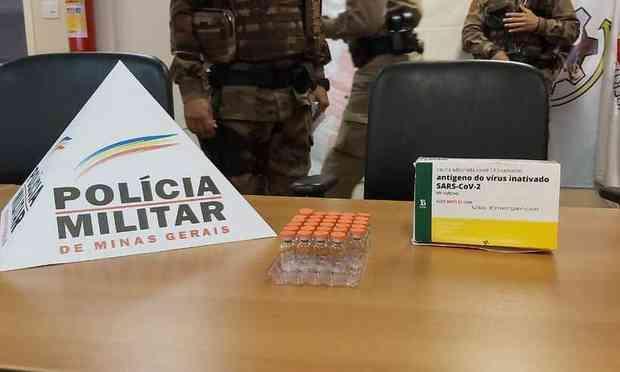 Antes de chegar à PF, a ocorrência foi dirigida pela Polícia Militar, que foi acionada após os responsáveis pela unidade de Saúde terem constatado a falta das ampolas