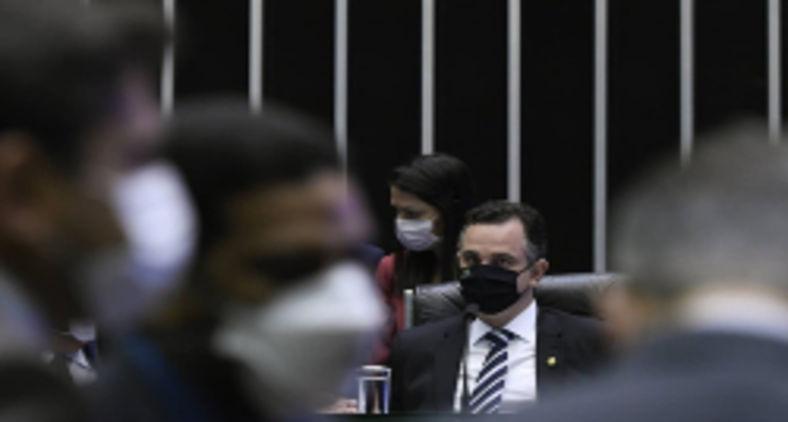O então ministro da Justiça, Sergio Moro, elaborou um anteprojeto que, de maneira geral, privilegiava a acusação. Na foto, sessão deliberativa remota do Congresso Nacional para deputados, destinada à deliberação de 32 vetos presidenciais (Edilson Rodrigues/Agência Senado)