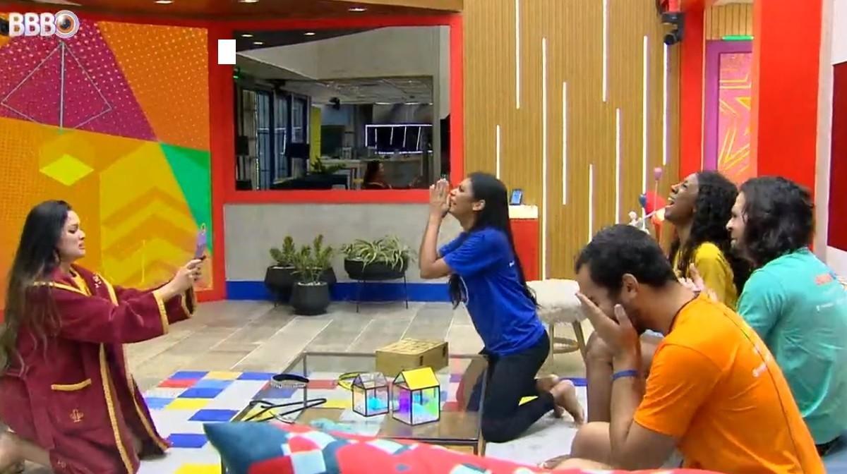 Emoção tomou conta dos últimos integrantes da casa mais vigiada no Brasil