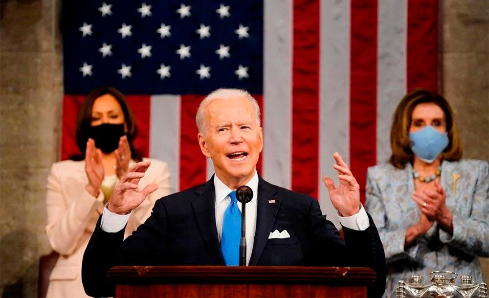 Ao defender o pacote de infraestrutura, Biden disse ainda que a construção de uma sociedade verde