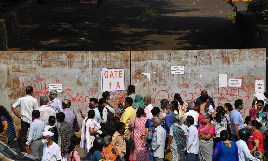 Índia vive crise sanitária com variante do vírus
