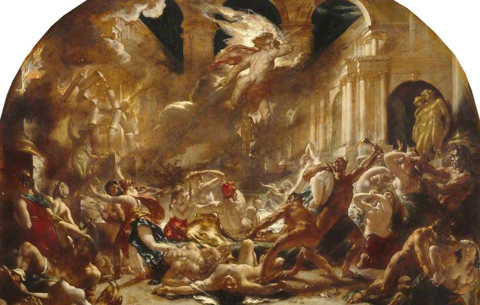 'A destruição do Templo do Vício' (1832)