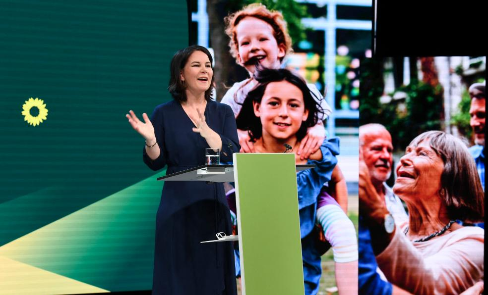 Annalena Baerbock e o Partido Verde são populares entre muitos jovens alemães que priorizam as políticas ambientais em suas decisões de voto