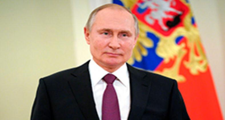 Vladimir Putin, em 27 de março de 2021 em Moscou (Mikhail Klimentyev/AFP)