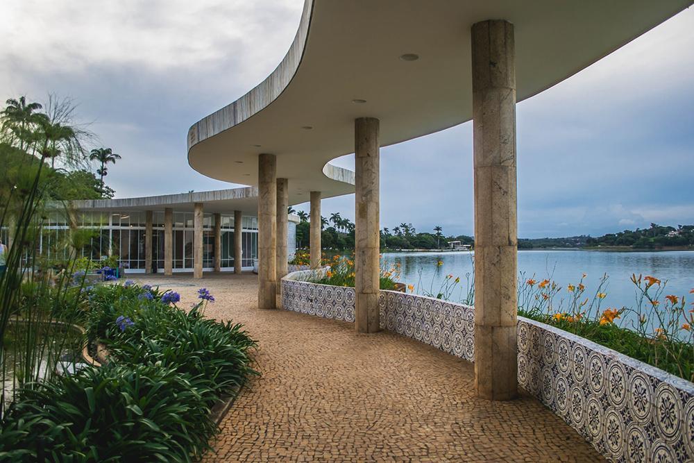 Casa do Baile, na Lagoa da Pampulha, Belo Horizonte