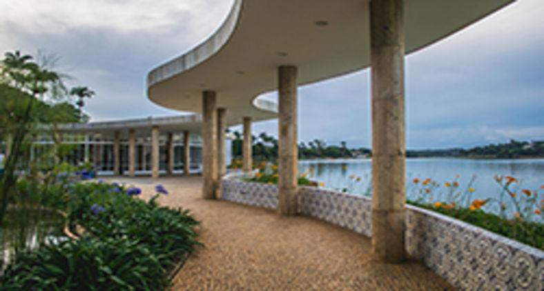 Casa do Baile, na Lagoa da Pampulha, Belo Horizonte (Unsplash/Nathalia Segato)