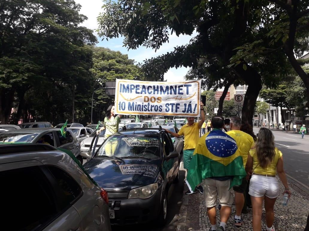 Bolsonaristas atacaram o Supremo Tribunal Federal