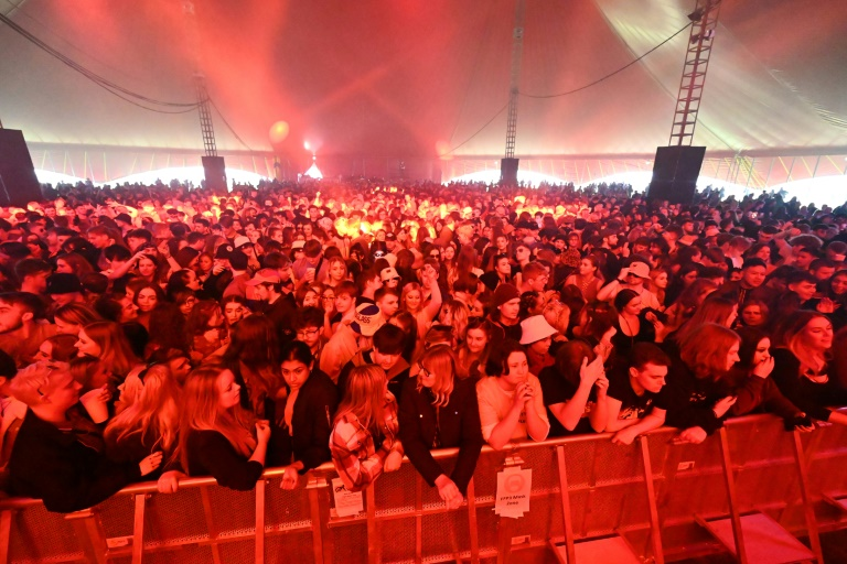 O festival foi parte de um projeto do governo britânico para testar as medidas de segurança em eventos