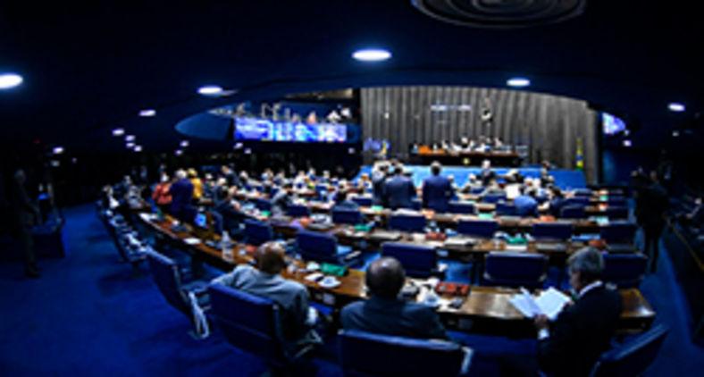 Plenário do Senado Federal é menor que parece ser (Marcos Oliveira/Agência Senado)