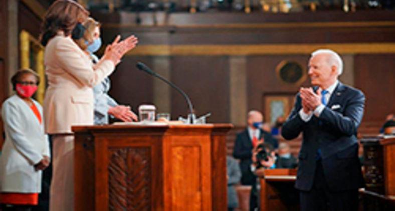 Biden discursa no Congresso no balanço de 100 dias de governo (Potus)