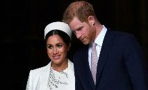 Meghan Markle e o príncipe Harry (Ben Stansall/AFP)
