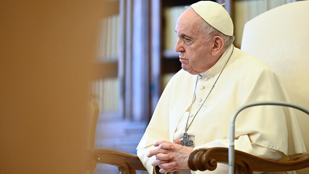 Francisco durante a audiência desta quarta-feira, 5 de maio