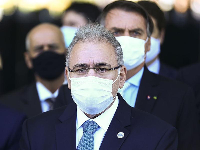 Ministro Marcelo Queiroga anunciou quantidade fake de vacinas contratadas