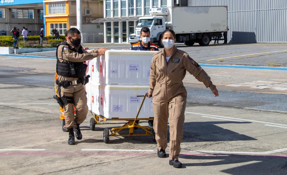 Todas as etapas de logística do transporte contam com o apoio das Forças de Segurança e Salvamento