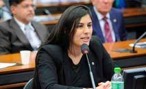 A relatora Chris Tonietto, da bancada bolsonarista, lamentou o resultado nas redes sociais (Cleia Viana/Ag. Câmara)