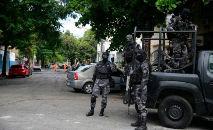 Polícia especial faz operação no Rio: violência segue fazendo vítimas (Fernando Frazão/ABr)