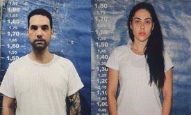 Casal pode pegar até 30 anos de cadeia (Divulgação Polícia Rio)