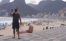 Com a nova determinação da prefeitura do Rio, praias, parques e cachoeiras estão liberados para o público (Tomaz Silva/ABr)