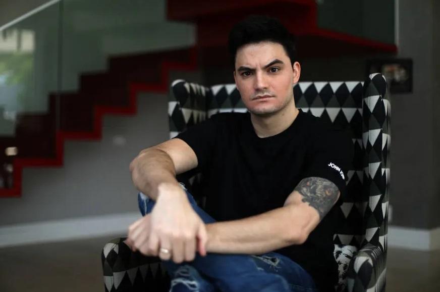 O influenciador digital Felipe Neto