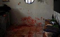 Residência no Jacarezinho onde moradores afirmam ter presenciado a execução de um homem pela PM (Mauro Pimentel/AFP)