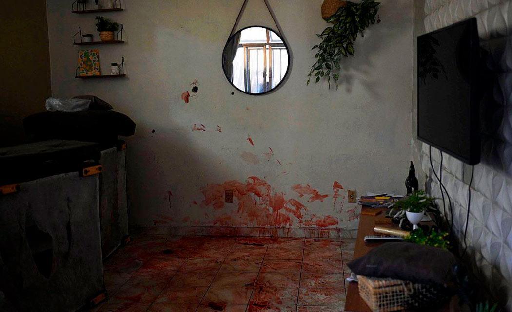 Residência no Jacarezinho onde moradores afirmam ter presenciado a execução de um homem pela PM